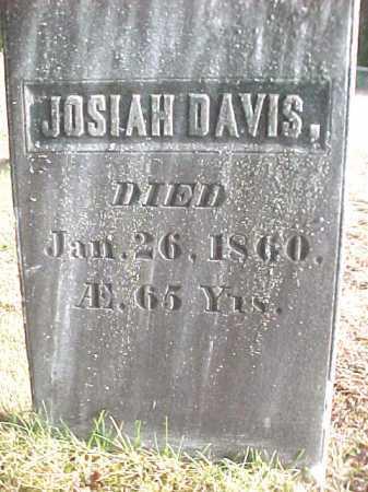 DAVIS, JOSIAH - Warren County, New York | JOSIAH DAVIS - New York Gravestone Photos