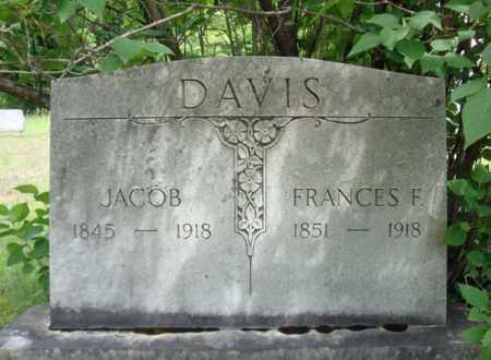 DAVIS, FRANCES F - Warren County, New York | FRANCES F DAVIS - New York Gravestone Photos