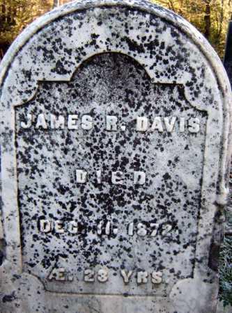 DAVIS, JAMES R - Warren County, New York | JAMES R DAVIS - New York Gravestone Photos