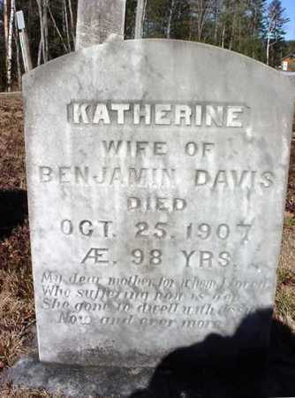 DAVIS, KATHERINE - Warren County, New York | KATHERINE DAVIS - New York Gravestone Photos