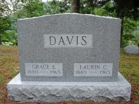 DAVIS, GRACE E - Warren County, New York   GRACE E DAVIS - New York Gravestone Photos