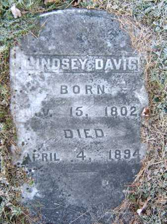 DAVIS, LINDSEY - Warren County, New York | LINDSEY DAVIS - New York Gravestone Photos