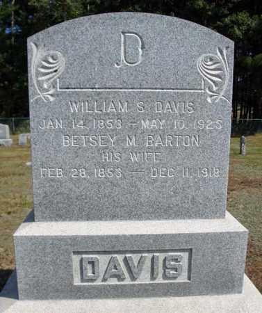DAVIS, BETSEY M - Warren County, New York   BETSEY M DAVIS - New York Gravestone Photos
