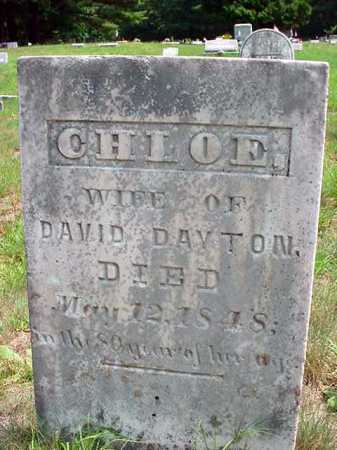 DAYTON, CHLOE - Warren County, New York | CHLOE DAYTON - New York Gravestone Photos