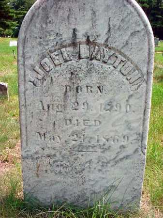 DAYTON, JOEL D. - Warren County, New York | JOEL D. DAYTON - New York Gravestone Photos