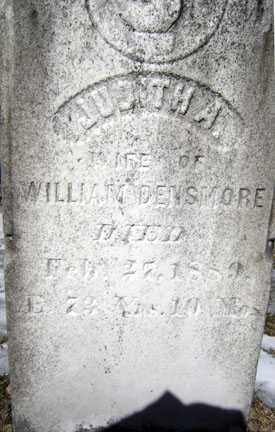 DENSMORE, JUDITH A - Warren County, New York | JUDITH A DENSMORE - New York Gravestone Photos