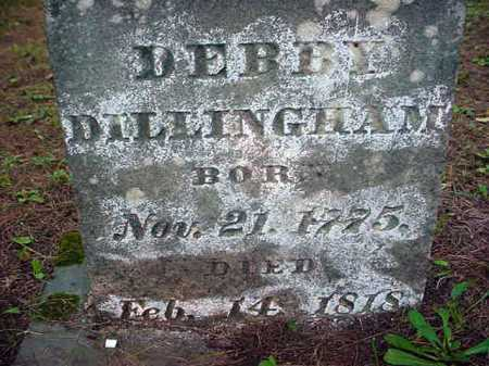 DILLINGHAM, DEBORAH CHARITY - Warren County, New York | DEBORAH CHARITY DILLINGHAM - New York Gravestone Photos