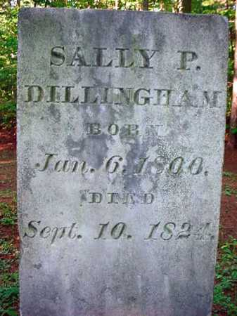 DILLINGHAM, SALLLY P - Warren County, New York | SALLLY P DILLINGHAM - New York Gravestone Photos