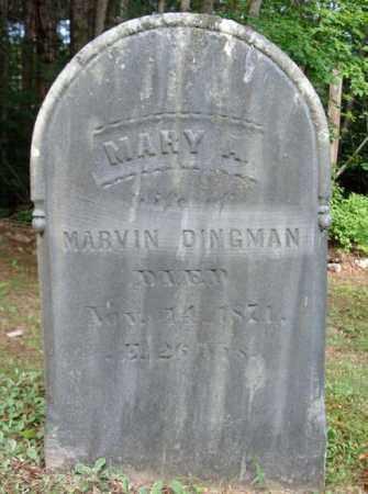 DINGMAN, MARY - Warren County, New York | MARY DINGMAN - New York Gravestone Photos