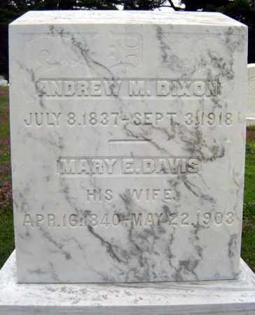 DAVIS, MARY E - Warren County, New York | MARY E DAVIS - New York Gravestone Photos
