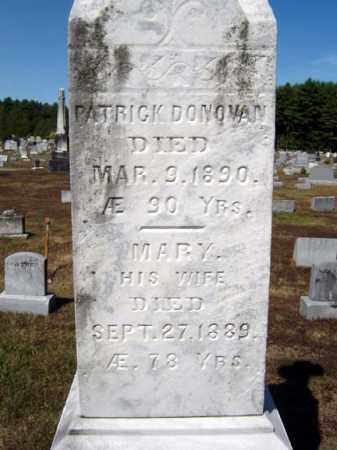 DONOVAN, MARY - Warren County, New York | MARY DONOVAN - New York Gravestone Photos