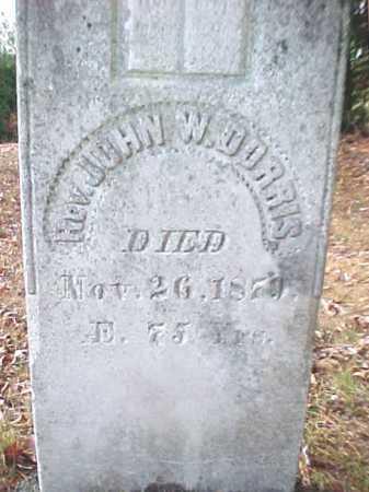 DORRIS, JOHN W - Warren County, New York | JOHN W DORRIS - New York Gravestone Photos