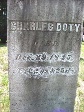 DOTY, CHARLES - Warren County, New York | CHARLES DOTY - New York Gravestone Photos