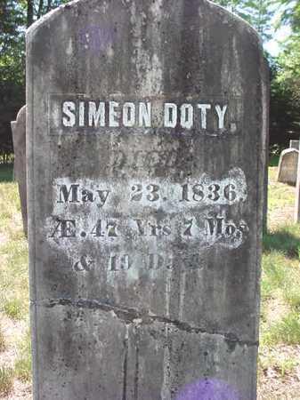 DOTY, SIMEON - Warren County, New York   SIMEON DOTY - New York Gravestone Photos