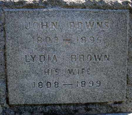 DOWNS, LYDIA - Warren County, New York | LYDIA DOWNS - New York Gravestone Photos