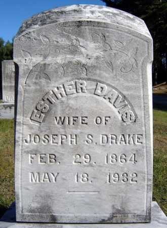 DAVIS, ESTHER - Warren County, New York | ESTHER DAVIS - New York Gravestone Photos