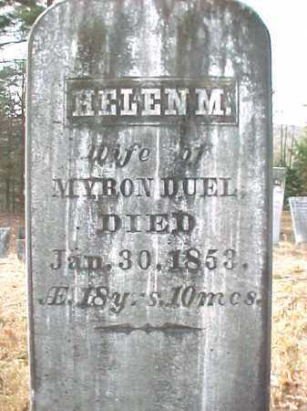 DUEL, HELEN M - Warren County, New York | HELEN M DUEL - New York Gravestone Photos