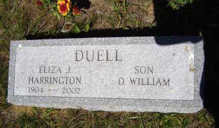 DUELL, ELIZA J - Warren County, New York | ELIZA J DUELL - New York Gravestone Photos