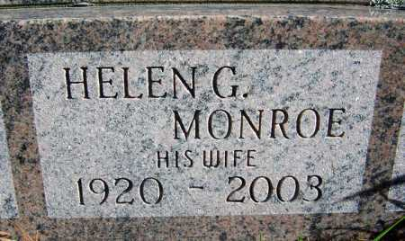 MONROE, HELEN - Warren County, New York | HELEN MONROE - New York Gravestone Photos