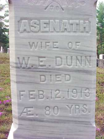 DUNN, ASENATH - Warren County, New York   ASENATH DUNN - New York Gravestone Photos