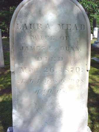 MEAD, LAURA - Warren County, New York | LAURA MEAD - New York Gravestone Photos