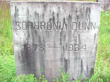 DUNN, SOPHRONIA - Warren County, New York | SOPHRONIA DUNN - New York Gravestone Photos