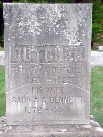 BENNETT, SABINA A - Warren County, New York | SABINA A BENNETT - New York Gravestone Photos