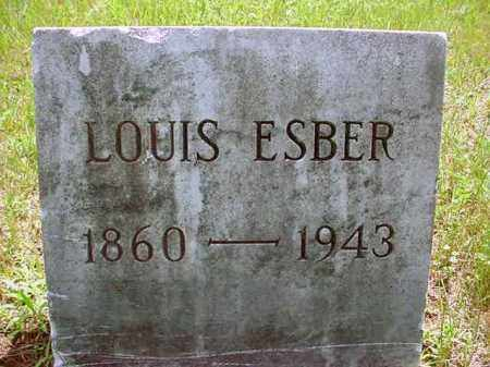 ESBER, LOUIS - Warren County, New York | LOUIS ESBER - New York Gravestone Photos