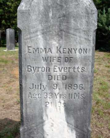 KENYON, EMMA - Warren County, New York   EMMA KENYON - New York Gravestone Photos