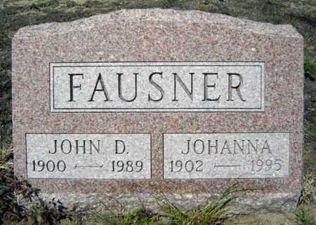 FAUSNER, JOHANNA - Warren County, New York | JOHANNA FAUSNER - New York Gravestone Photos