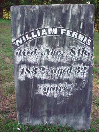 FERRIS, WILLIAM - Warren County, New York | WILLIAM FERRIS - New York Gravestone Photos