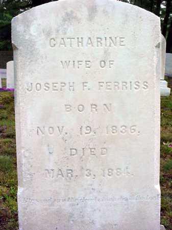 FERRISS, CATHARINE - Warren County, New York | CATHARINE FERRISS - New York Gravestone Photos