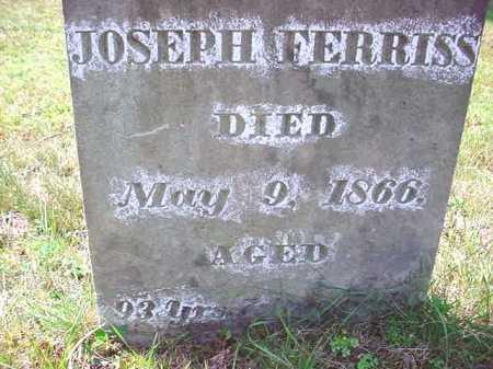 FERRISS, JOSEPH - Warren County, New York | JOSEPH FERRISS - New York Gravestone Photos