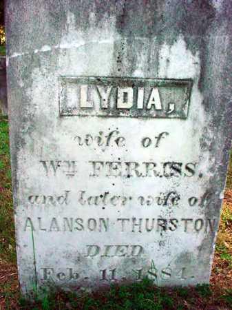 FERRISS, LYDIA - Warren County, New York | LYDIA FERRISS - New York Gravestone Photos