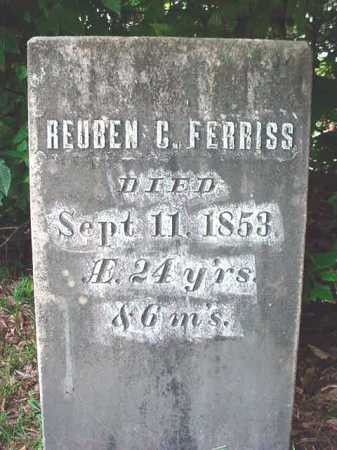FERRISS, REUBEN C - Warren County, New York | REUBEN C FERRISS - New York Gravestone Photos