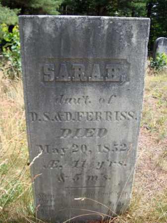 FERRISS, SARAH - Warren County, New York | SARAH FERRISS - New York Gravestone Photos