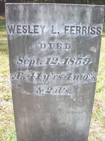 FERRISS, WESLEY L - Warren County, New York | WESLEY L FERRISS - New York Gravestone Photos