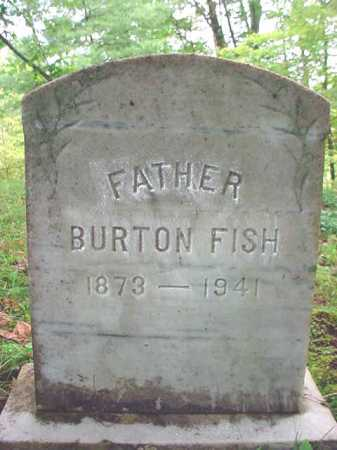 FISH, BURTON - Warren County, New York   BURTON FISH - New York Gravestone Photos