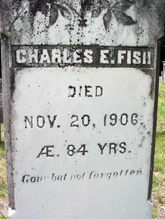 FISH, CHARLES E - Warren County, New York | CHARLES E FISH - New York Gravestone Photos