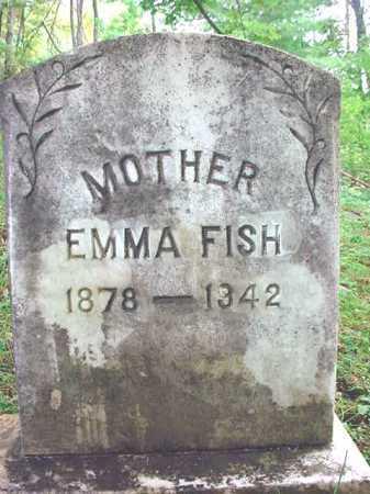 FISH, EMMA - Warren County, New York | EMMA FISH - New York Gravestone Photos