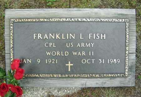 FISH (WWII), FRANKLIN L - Warren County, New York   FRANKLIN L FISH (WWII) - New York Gravestone Photos