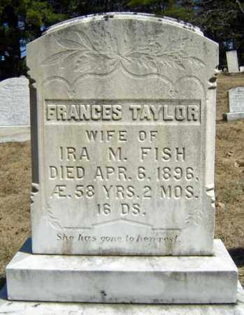 TAYLOR FISH, FRANCES - Warren County, New York   FRANCES TAYLOR FISH - New York Gravestone Photos