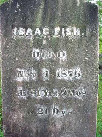 FISH, ISAAC - Warren County, New York | ISAAC FISH - New York Gravestone Photos