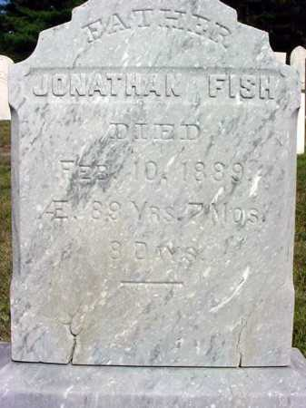 FISH, JONATHAN - Warren County, New York | JONATHAN FISH - New York Gravestone Photos