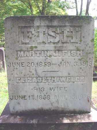 FISH, MARTIN J - Warren County, New York | MARTIN J FISH - New York Gravestone Photos