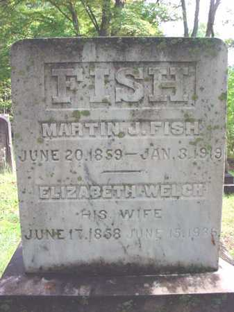 WELCH FISH, ELIZABETH - Warren County, New York | ELIZABETH WELCH FISH - New York Gravestone Photos
