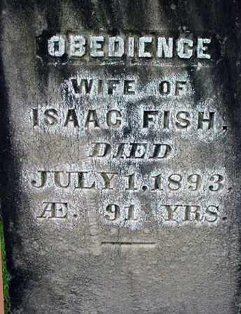 FISH, OBEDIENCE - Warren County, New York   OBEDIENCE FISH - New York Gravestone Photos