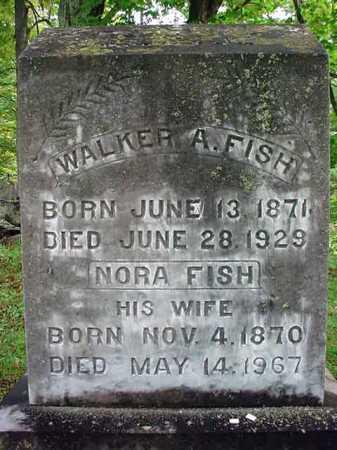 FISH, NORA - Warren County, New York   NORA FISH - New York Gravestone Photos