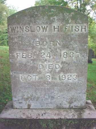 FISH, WINSLOW H - Warren County, New York | WINSLOW H FISH - New York Gravestone Photos
