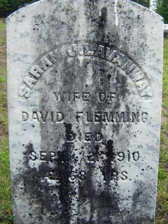LAVANWAY FLEMMING, SARAH J - Warren County, New York | SARAH J LAVANWAY FLEMMING - New York Gravestone Photos